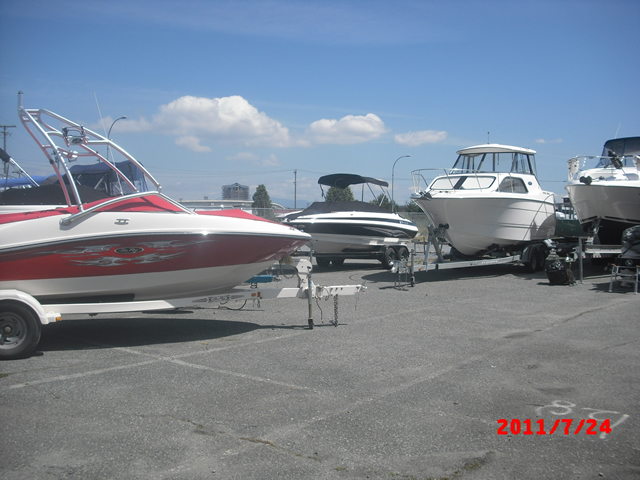 RV, Boat and car storage short or long term Richmond BC